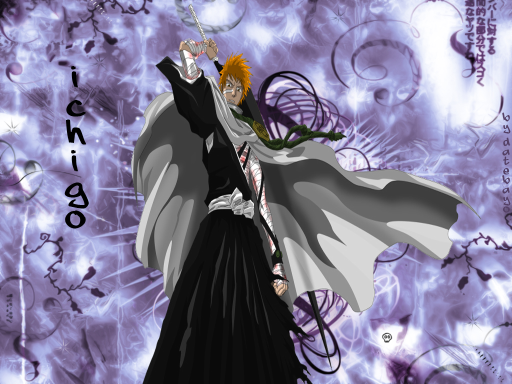 Wallpaper bleach mangas fond d 39 cran for Photo ecran bleach