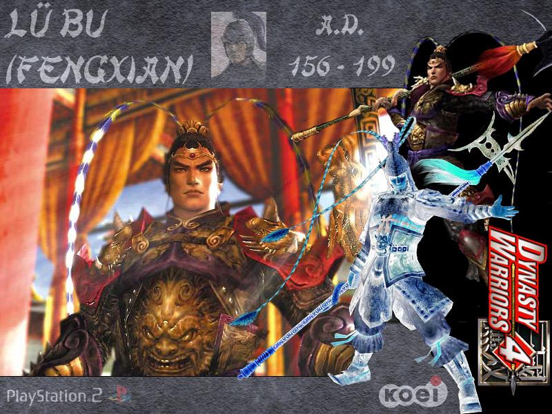 wallpaper : Dynasty Warriors 4 Jeux Vidéo fond d'écran