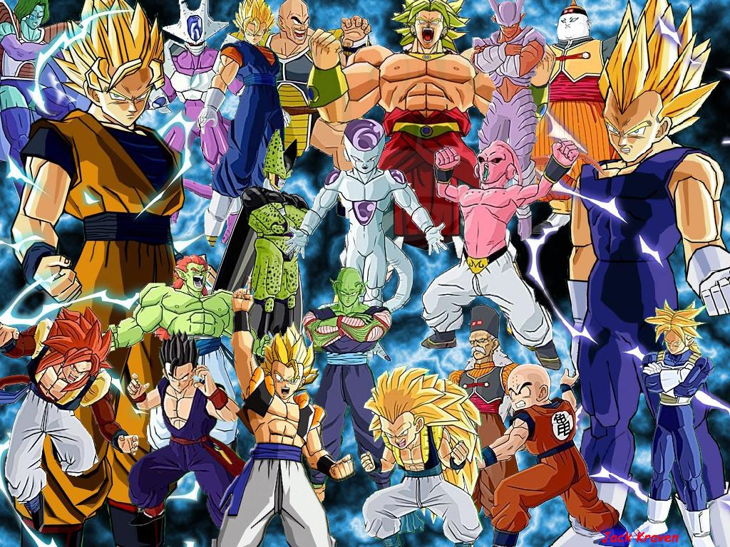 Wallpaper dragon ball z budokai 3 jeux vid o fond d 39 cran for Fond ecran dbz