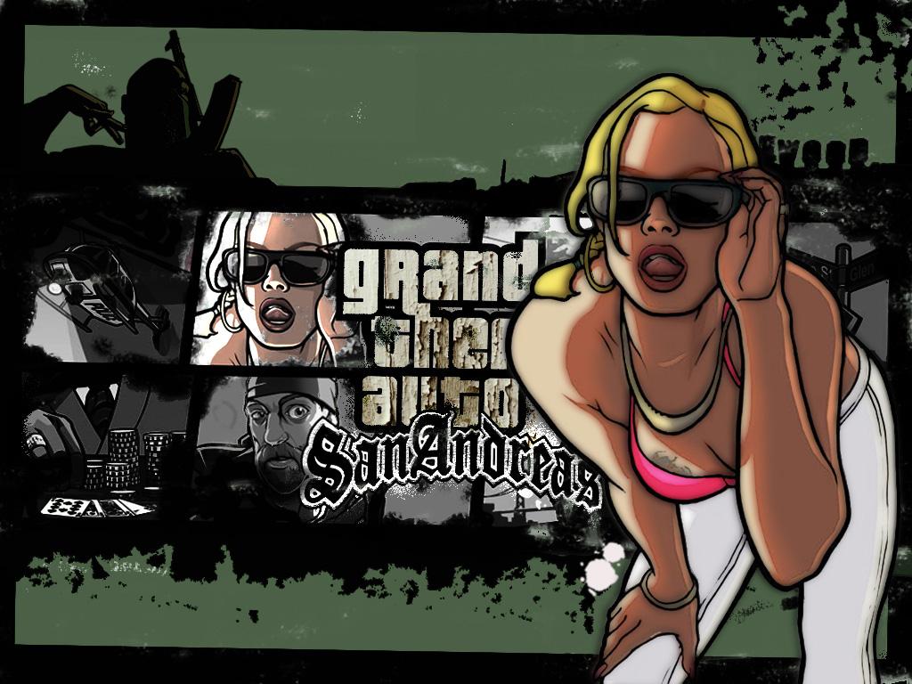 wallpaper : GTA San Andreas Jeux Vidéo