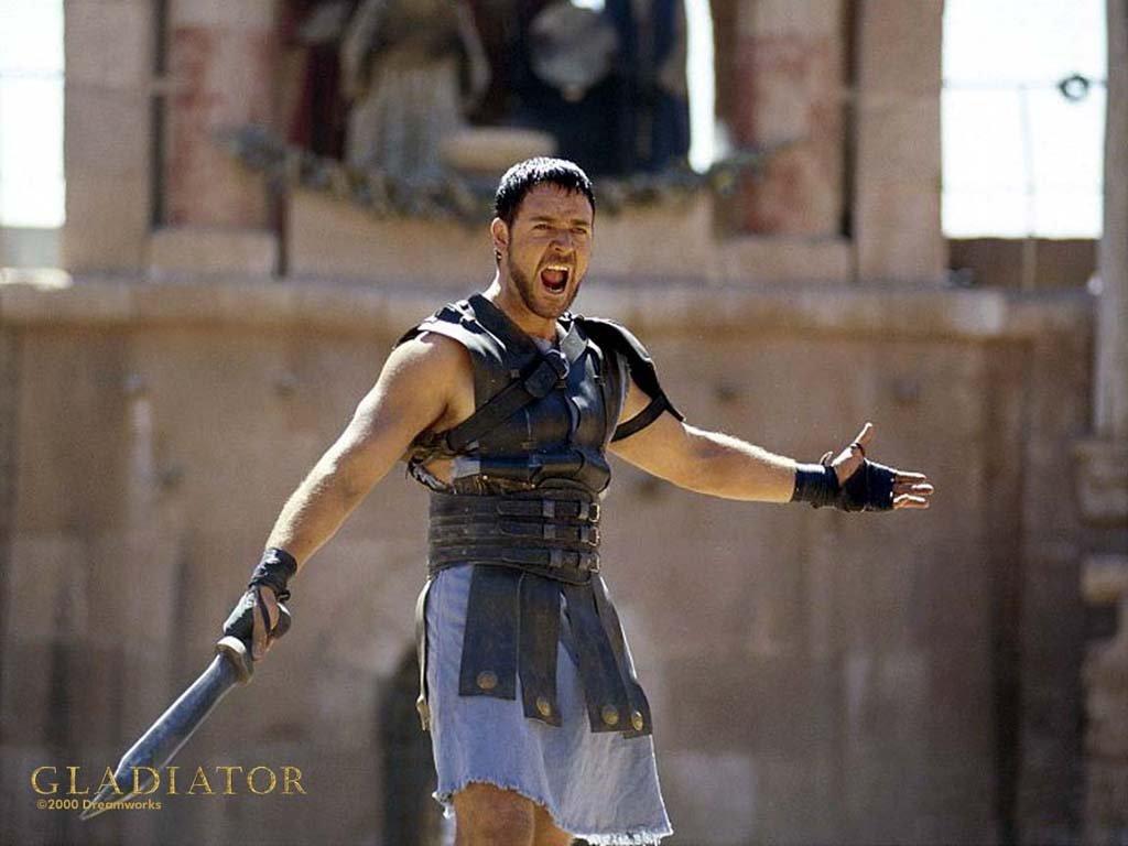 wallpaper Gladiator Cinema fond