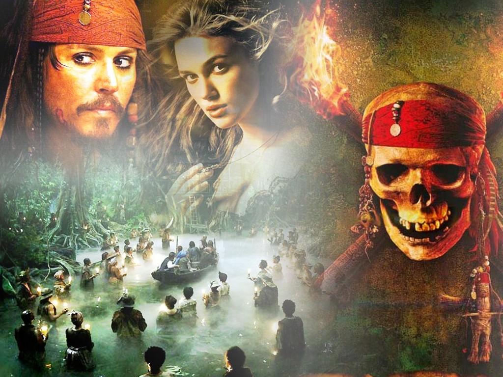 Wallpaper Pirates Des Caraibes 2 Cinema Fond Décran