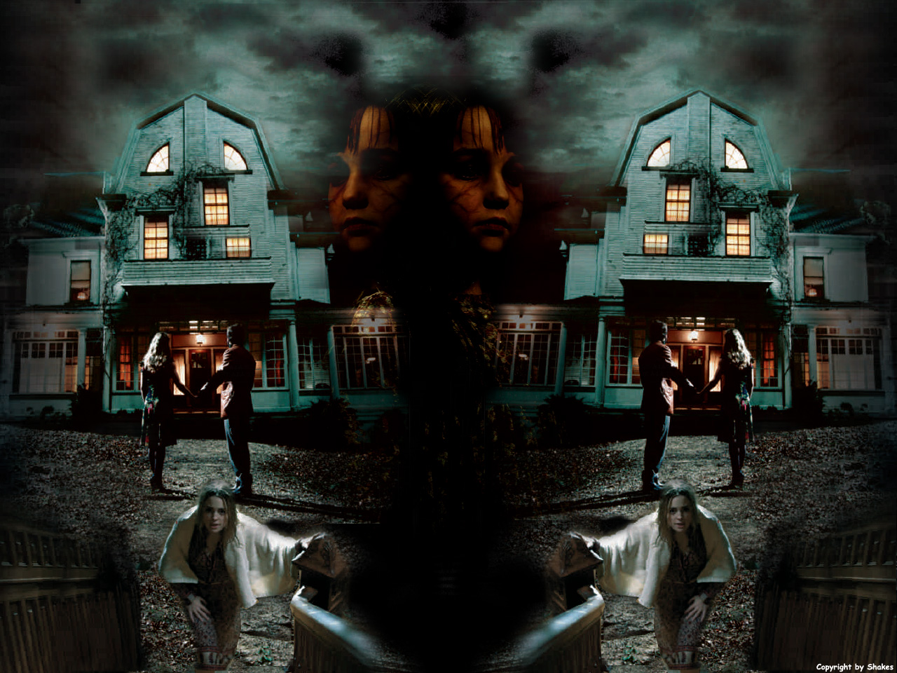 Wallpaper amityville la maison du diable cinema fond d for Amityville la maison du diable