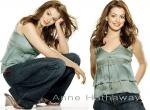 Anne Hathaway N°11112 wallpaper provenant de Anne Hathaway