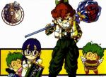 Dr Slump N°2758 wallpaper provenant de Dr Slump