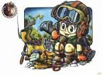 Dr Slump N°2759 wallpaper provenant de Dr Slump