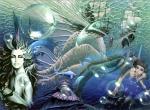 Sirenes N°3154 wallpaper provenant de Sirenes