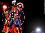 Avengers N°7715 wallpaper provenant de  Avengers