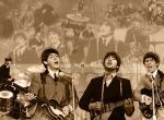 The Beatles N°8370 wallpaper provenant de The Beatles