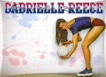 Gabrielle Reece N°9358 wallpaper provenant de Gabrielle Reece