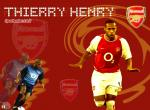 Thierry Henry N°9857 wallpaper provenant de Thierry Henry